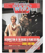 Doctor Who Monthly Comic Magazine #86 Peter Davison Cover 1984 VERY GOOD+ - $2.50
