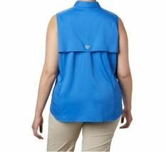 COLUMBIA Women's PFG Tamiami™ Sleeveless Shirt - Plus Size 2X STORE NEW--!!!! image 2