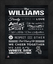 "Chicago White Sox ""Family Cheer"" 13 x 16 Framed Print - $39.95"