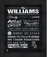 """Chicago White Sox """"Family Cheer"""" 13 x 16 Framed Print - $39.95"""