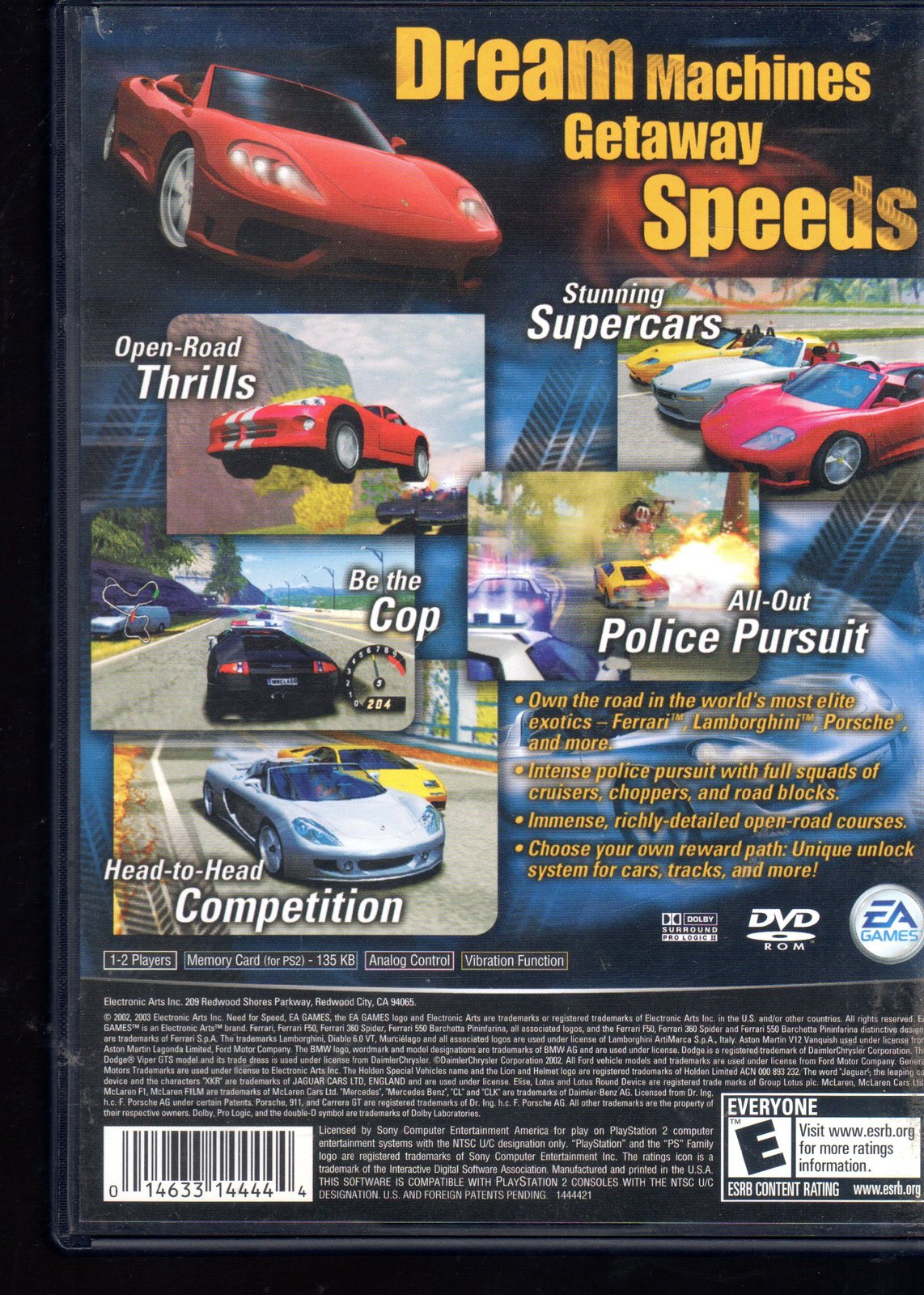Need For Speed Hot Pursuit 2 Sony And 50 Similar Items