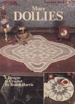 More Doilies, Leisure Arts Crochet Pattern Booklet 843 - $2.95