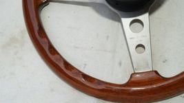 1977 Mercedes W123 R107 W107 Grant Wood Steering + Hub image 9
