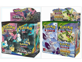 Pokemon TCG Sun & Moon Team Up + Roaring Skies Booster Box Bundle - $209.99