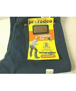 Wrangler Pro-Rodeo Sz 30 x 35 Cowboy Cut 13MWZ Original Fit Jeans Denim NEW - $36.13