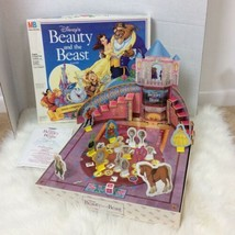 Walt Disney Beauty and The Beast 3D Board Game 1991 Complete - $18.69