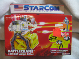 Star Com Battle Crane.Unopened. Coleco. Ages 5 and up. 1987. - $170.00
