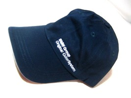 BMW Group Original Color System Baseball Hat Navy Blue One Size Hat - $24.95