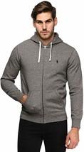 Ralph Lauren Polo Classic Full-Zip Fleece Hooded Sweatshirt Alaskan Heather New - $99.95