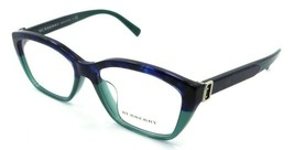 Burberry Rx Eyeglasses Frames BE 2265F 3677 53-16-140 Blue Havana / Gree... - $176.40