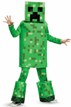 Disguise Minecraft Creeper Costume M(7-8) NEW (read)