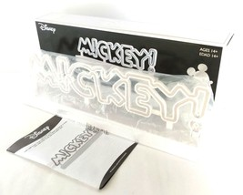 Disney MICKEY Faux Neon Light Table Desk Lamp White ~ NEW OLD STOCK - $21.95