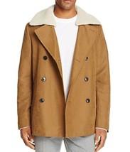 Michael Kors Faux Suede Pea Coat 100% Exclusive Size: M $ 595.00 - $123.75