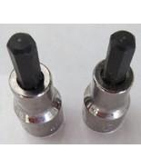 """KD Tools 414716 3/8"""" Dr 1/4"""" Socket Hex Bit Socket USA (2 PCS) - $4.16"""