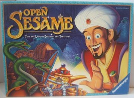 Open Sesame Complete Ravensburger Board Game Gunter Baars Turn Locks Treasure - $30.41