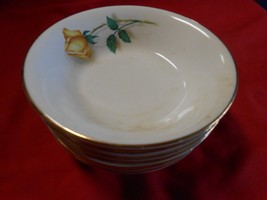 """Vintage SIMPLICITY China """"The Hallmark of Quality"""" Set of 7 BERRY BOWLS - $13.93"""