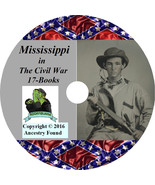 Mississippi Civil War Books History & Genealogy 17 Books on DVD - $6.76