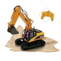 ToyThrill Remote Control Excavator - Fully Functional 15 Channel Die-Cas... - $94.35