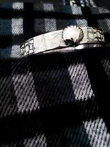 Coach Signature C Silver Bangle Bracelet - $35.63