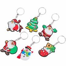 VOILEY® Merry Christmas Gift Cartoon Santa Claus Snowman Keychain Christmas - $2.36+
