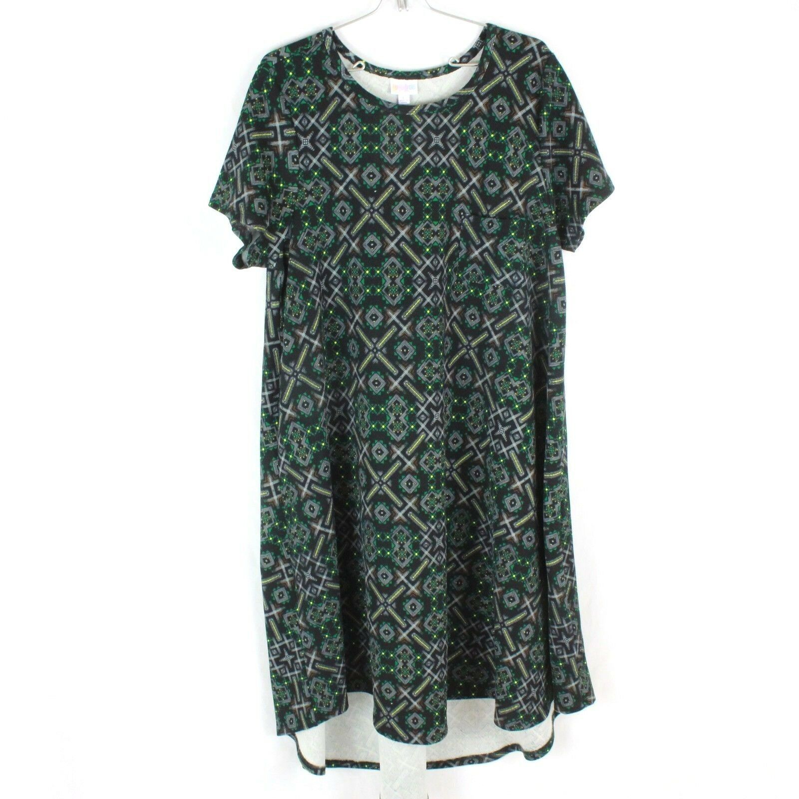 Primary image for LuLaroe T-Shirt Dress Size Large Simply Comfortable Womens OverSized Flowy Fit