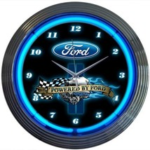 "Licensed Ford Neon Clock 15""x15"" - $69.00"