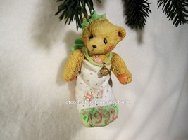 Cherished Teddies Ornament 1992 Bear in Stocking NIB - $29.65