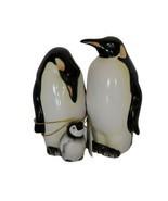 Westland Giftware Mwah Magnetic Penguins Salt and Pepper Shaker Set 3-1/... - $19.99