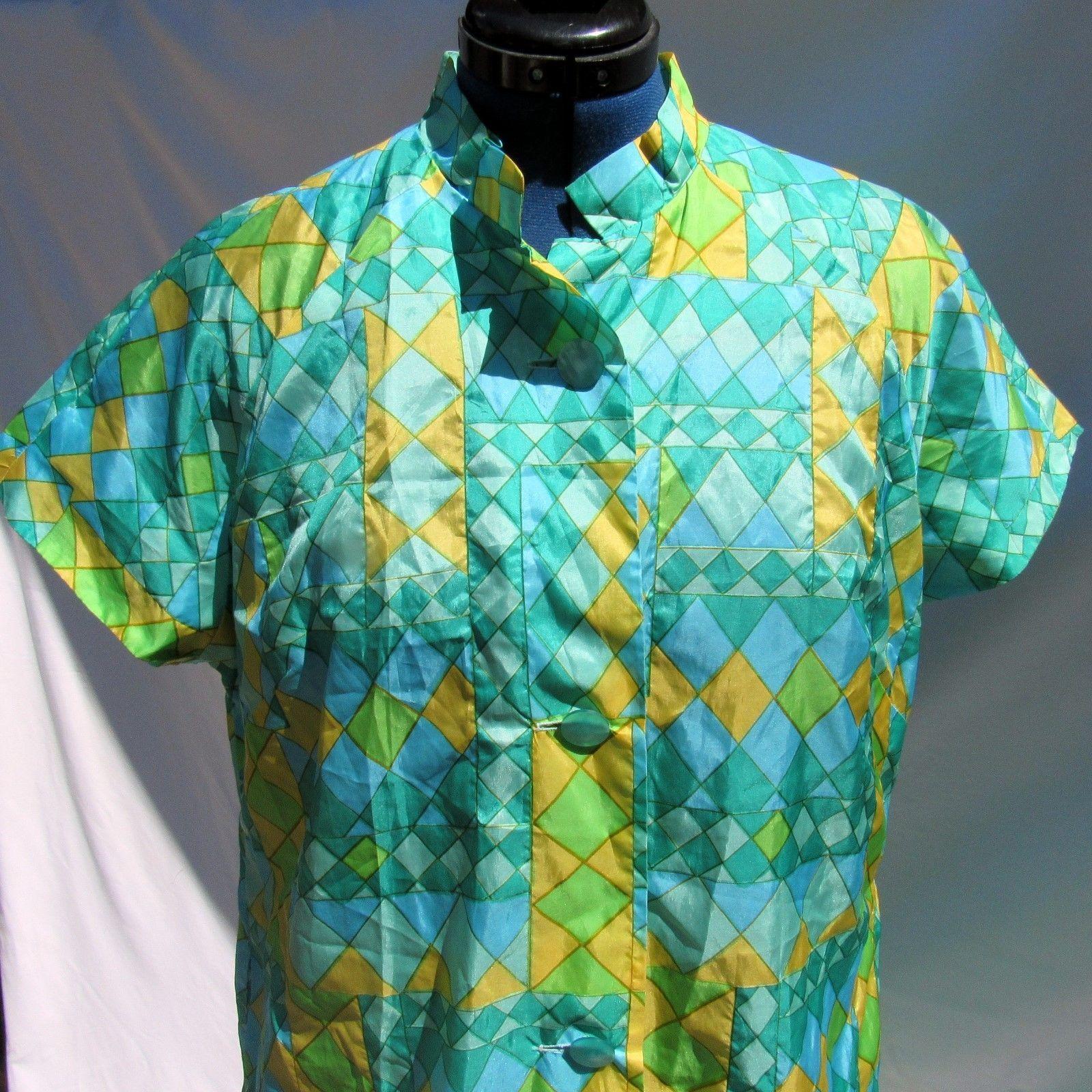 6e8c4f00e47e7 Vintage Saks Fifth Avenue House Dress Summer and 50 similar items