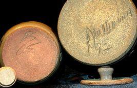 Daviess County Westerwald Stoneware Honey Pot Lid Stir Stick & Bowl with handle image 5