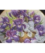 Rare FRANKLIN MINT Mogambo IRIS Plate Katherine Austen Limited Edition - $24.95
