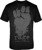 Auténtico Rage Against The Machine Puño Música Banda de Rock HOMBRE Cami... - $20.90