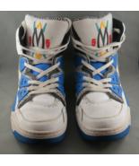 Adidas Originals Dikembe Mutombo 55 - 1993 Blue White HI Top Shoes - Siz... - $128.00