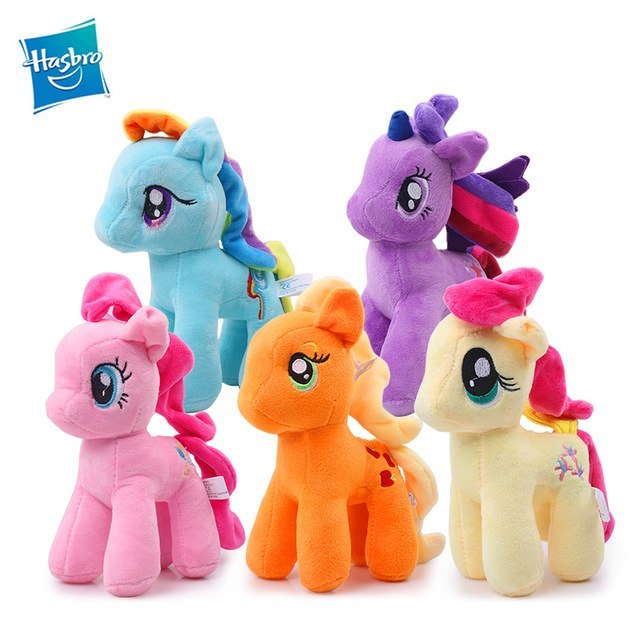 24Cm Hasbro My Little Pony Plush Stuffed Dolls Friendship -2621