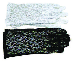 Gloves Lace White  Costume Accessories - $12.07