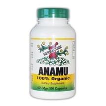 100% Organic Anamu 625mg (1250 Mg Per Serving) - 100 Capsules by Herbacure - $19.75