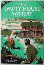 Ted Wilford The Empty House Mystery Norvin Pallas no.5 new reprint paper... - $12.00