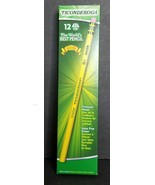 NEW Ticonderoga Pencils Wood-Cased Graphite Yellow #2 HB with Eraser 12-... - $6.55