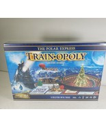 Master Pieces -The Polar Express Train-Opoly Board Game Monopoly Style C... - $36.90