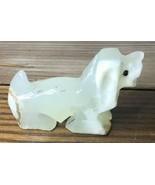 Cocker Spaniel Dog Alabaster Figurine Forbidden Caverns Sevierville Tenn... - $7.99