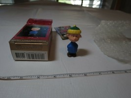 Hallmark Keepsake Nos Linus Ornament A Charlie Brown Christmas 30th Anniversary - $19.79