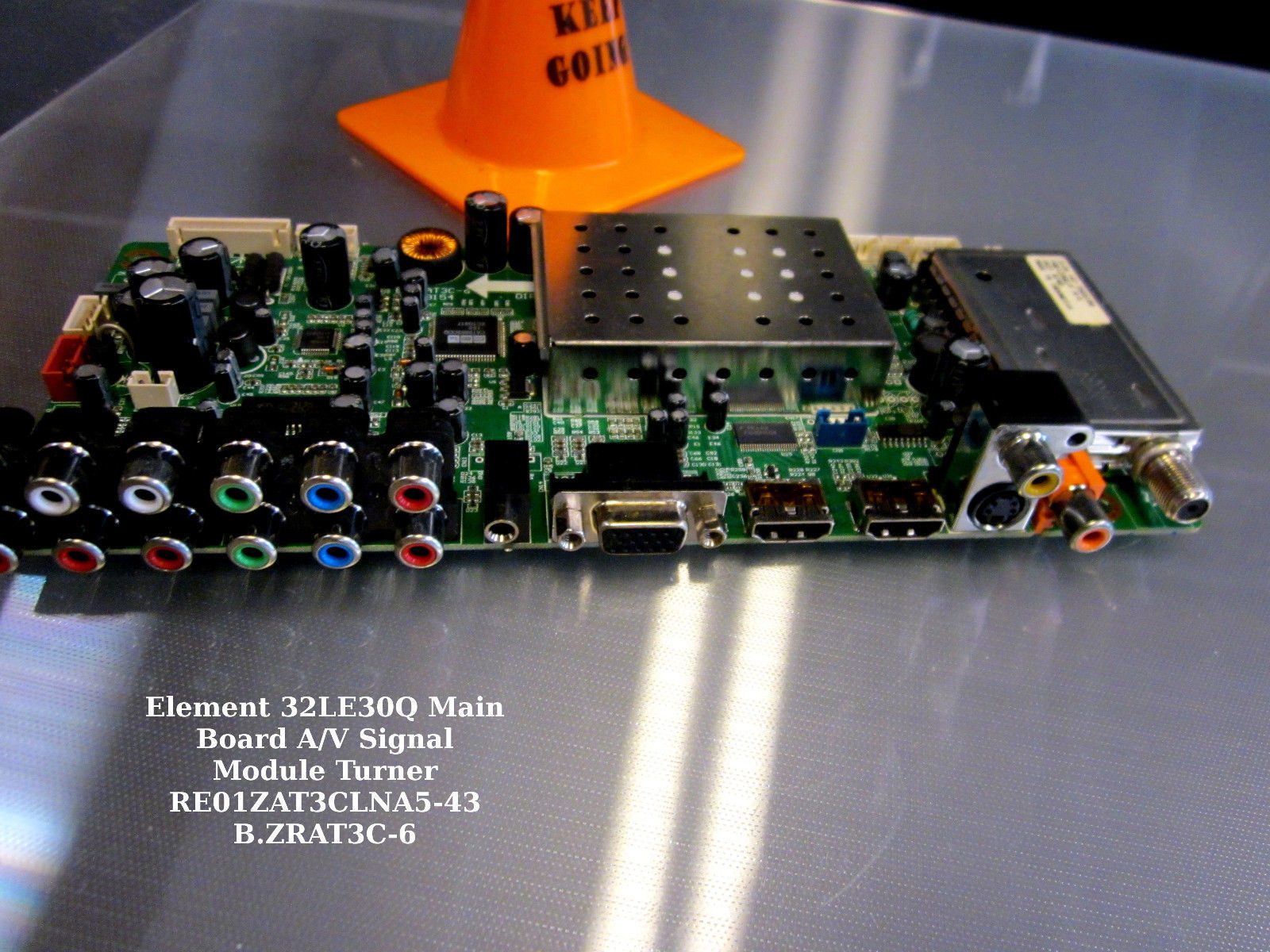 Primary image for Element 32LE30Q Main Board A/V Signal Module Turner RE01ZAT3CLNA5-43 B.ZRAT3C-6