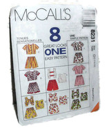 Pattern 8231 McCall Child 7 8 10 Tops Pull on Shorts Easy Uncut Summer M... - $10.00