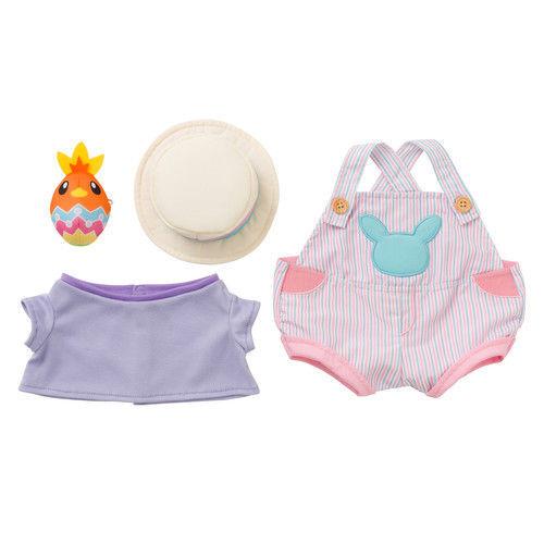 Plush Doll and Easter Costume set Pikachu's Closet Pikachu pokemon japanese F/S