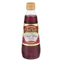 Pompeian Gourmet Red Wine Vinegar Premium Quality - $13.81