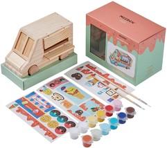 Meeden Wood DIY Decoration Craft Kit For Kids,Original Pine Wood Ice Cre... - $57.00