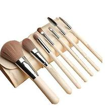 7Pcs Synthetic Foundation Concealers Eye Shadows Makeup Brush Sets(White)