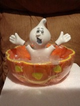 Dept 56 Halloween - Ghostly Candy Bowl - #35240 - Mint in Box - $14.95