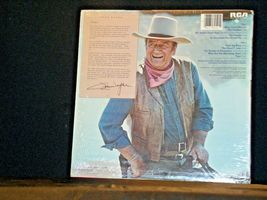John Wayne, AMERICA , Why I love Her RCA Record AA-191743 Vintage Collectible image 3