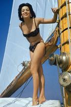 Linda Cristal Rare Full Length Bikini Color 18x24 Poster - $23.99